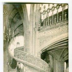 Postales: MORELLA (CASTELLON) Nº 18 ARCIPRESTAL ESCALERA DEL CORO - PRAT - ESCRITA EN 1959. Lote 135172954
