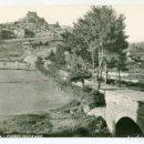 Postales: MORELLA (CASTELLON) Nº 3 PUENTE HOSTALNOU FOTO J. PASCUAL SIN ESCRIBIR. Lote 135173034