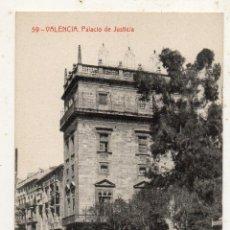Postales: VALENCIA. PALACIO DE JUSTICIA.. Lote 135198870