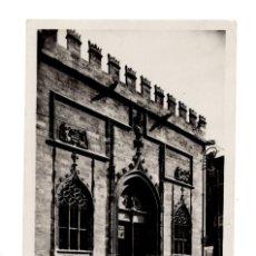 Postales: POSTAL DE VALENCIA. LONJA DE LA SEDA (SIGLO XV). DETALLE DE LA FACHADA. Lote 135257806