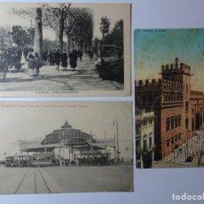Postales: LOTE DE 3 ANTIGUAS POSTALES DE VALENCIA , VER FOTOS. Lote 135315546