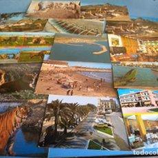 Postales: 14 POSTALES PROVINCIA ALICANTE AÑOS 70 O 80. Lote 135409742