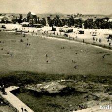Postales: TORREVIEJA-PLAYA DE LOS LOCOS- 1958- ED. DARBLADE- MUY RARA. Lote 135485398