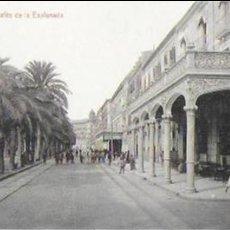 Postales: P-8769. POSTAL ALICANTE, CAFES DE LA ESPLANADA.. Lote 135796754