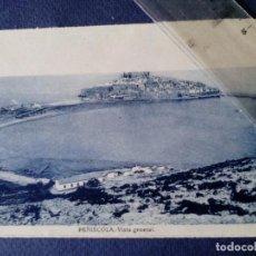 Postales: POSTAL - PEÑISCOLA (CASTELLÓN) - VISTA GENERAL. Lote 136252254