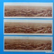 Postales: ENGUERA, VALENCIA - 3 POSTALES APAISADAS VISTA GENERAL - VER DESCRIPCION Y FOTOS ADICIONALES. Lote 136724962