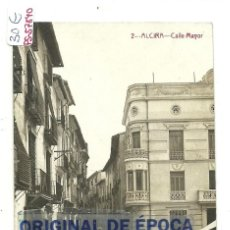 Postales: (PS-57840)POSTAL FOTOGRAFICA DE ALCIRA-CALLE MAYOR. Lote 136832638