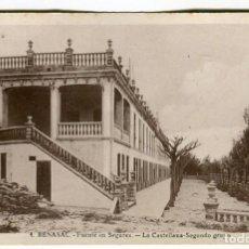 Postales: BENASAL -FUENTE EN SEGURES- LA CASTELLANA SEGUNDO GRUPO REVERSO DIVIDIDO SIN EDITOR -2-. Lote 136909770