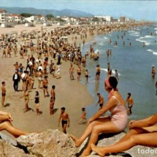 Postales: GANDIA – PLAYA – ED. BARCELONA – SUBIRATS CASANOVA – 1963 – CIRCULADA. Lote 137672382