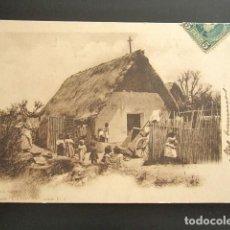 Postales: POSTAL VALENCIA. LA BARRACA. COLECCIÓN CÁNOVAS. SERIE F. PRIMERA EDICIÓN. CIRCULADA. AÑO 1902. . Lote 138091574