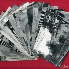 Postales: LOTE COLECCION 20 POSTALES COLEGIO LORETO DE VALENCIA. ANTIGUAS , ORIGINALES, BL. Lote 138657102