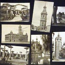 Postales: VALENCIA, 11 ANTIGUAS POSTALES, 2 CIRCULADAS EL RESTO SIN CIRCULAR , VER FOTOS. Lote 139348950