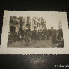 Postales: CARCER VALENCIA FIESTA DE MOROS Y CRISTIANOS POSTAL FOTOGRAFICA AÑOS 30. Lote 140025034