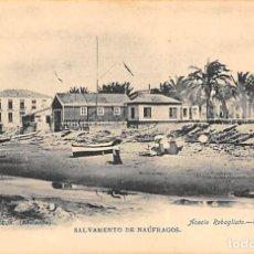 Postales: TORREVIEJA (ALICANTE).- SALVAMENTO DE NAÚFRAGOS. Lote 140372714