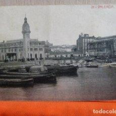 Postales: VALENCIA -EL PUERTO -POSTAL CIRCULADA EN 1923 -. Lote 140474322