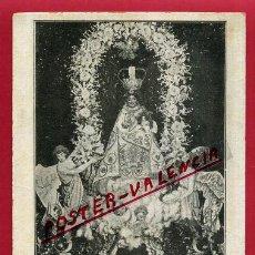 Postales: POSTAL CASTELLON , VILLARREAL , IMAGEN DE NUESTRA SRA DE GRACIA DE LA PROCESION , ORIGINAL , P435. Lote 140627918