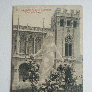 1910 EXPOSICIÓN REGIONAL VALENCIANA Fuente del amor 101 Valencia