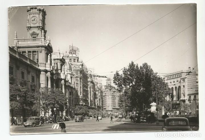 VALENCIA - PLAZA DEL CAUDILLO. AYUNTAMIENTO - Nº 1044 (Postales - España - Comunidad Valenciana Moderna (desde 1940))