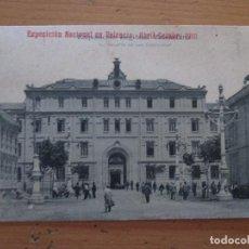 Postales: EXPOSICIÓN NACIONAL VALENCIA ABRIL-OCTUBRE 1910 CIRCULADA . Lote 141956114