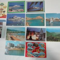 Postales: LOTE DE 12 POSTALES DE CASTELLON Y PROVINCIA, CIRCULADAS Y SIN CIRCULAR, ANTIGUAS Y NUEVAS. Lote 142062418