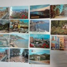 Postales: LOTE DE 183 POSTALES DE ALICANTE Y PROVINCIA, CIRCULADAS Y SIN CIRCULAR, ANTIGUAS Y NUEVAS. Lote 142064326