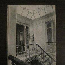 Postales: VALENCIA - PALACE HOTEL - ENTRADA A UNO DE LOS PISOS - POSTAL ANTIGUA - (54.778). Lote 142469490