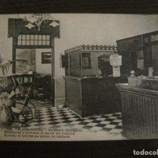 Postales: VALENCIA - PALACE HOTEL - DESPACHO Y ENTRADA AL SALON DE LECTURA - POSTAL ANTIGUA - (54.779). Lote 142469530