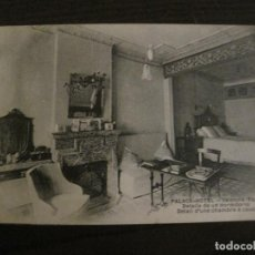 Postales: VALENCIA - PALACE HOTEL - DETALLE DE UN DORMITARIO - POSTAL ANTIGUA - (54.786). Lote 142470006