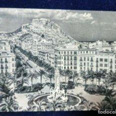 Postales: POSTAL ALICANTE AVENIDA ALFONSO EL SABIO EDICIONES JUQUEMO. Lote 144462766
