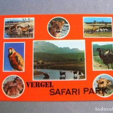 Postales: POSTAL VERGEL (ALICANTE) - SAFARI PARK - SIN CIRC, 1979. Lote 214017740