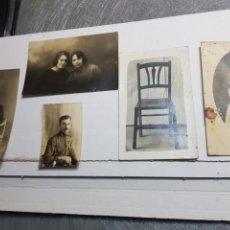 Postales: LOTE FOTOGRAFÍAS POSTAL ANTIGUA AÑOS 20. Lote 145105549