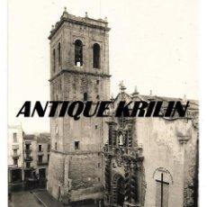 Postales: VINAROZ Nº 10 IGLESIA ARCIPRESTAL Y TORRE .-EDICION T. MIRALLES . Lote 145616458