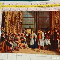 Cartes Postales: POSTAL DE VALENCIA. AÑO 1968. PALACIO DE LA GENERALIDAD, TRIBUNAL DE LAS AGUAS CUADRO. 1142. Lote 145758498