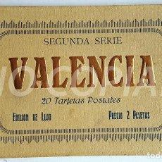 Postales: PACK 20 POSTALES ANTIGUAS DE VALENCIA. NUEVO. SIN USO.. Lote 146289158