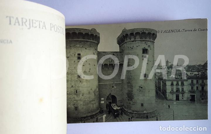 Postales: PACK 20 POSTALES ANTIGUAS DE VALENCIA. NUEVO. SIN USO. - Foto 4 - 146289158