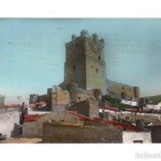 Postales: VILLENA.(ALICANTE).- CASTILLO MONUMENTO NACIONAL. Lote 146376826