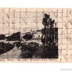 Postales: VILLENA.(ALICANTE).- VISTA GENERAL DEL SANTUARIO DE LAS VIRTUDES. Lote 146376926