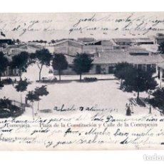 Postales: TORREVIEJA.(ALICANTE).- PLAZA DE LA CONSTITUCIÓN Y CALLE CONCEPCIÓN. Lote 146403894