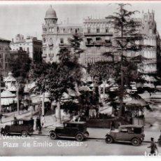 Postales: VALENCIA - PLAZA DE EMILIO CASTELAR. Lote 146622874