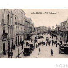 Postales: ORIHUELA.(ALICANTE).- CALLE DE LOACES. Lote 146631494