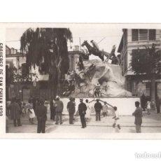 Postales: FOGUERES DE SAN CHUAN.(ALICANTE).- 1930. CASA SANCHEZ - POSTAL FOTOGRÁFICA. CALLE DE SAN VICENTE. Lote 146634250