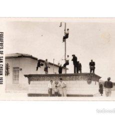 Postales: FOGUERES DE SAN CHUAN.(ALICANTE).- 1930. CASA SANCHEZ - POSTAL FOTOGRÁFICA. . Lote 146634690