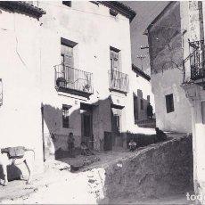 Postales: AYORA (VALENCIA) - CARRIL ALTO Y CARRIL BAJO. Lote 146707486
