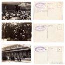 Postales: ALCOY.(ALICANTE).- AUGUSTO GONZALEZ BESADE. MINISTRO DE HACIENDA. PRESIDENTE.1915. FERROCARRIL. Lote 146873134