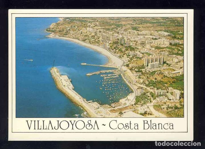 POSTAL DE VILA JOIOSA (ALACANT): VISTA AERIA (H.GALIANA 6) (Postales - España - Comunidad Valenciana Moderna (desde 1940))