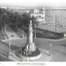 Postales: P- 8995. POSTAL ALICANTE, MONUMENTO A CANALEJAS. Nº111. ED.ARRIBAS.. Lote 146980998