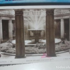 Postales: VALENCIA - MERCADO DE FLORES, PLAZA CASTELAR - L. ROISIN, 141 - FOTOGRÁFICA. Lote 147104910