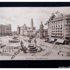 Postales: POSTAL VALENCIA - PLAZA DEL CAUDILLO . Lote 147353790
