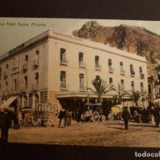 Postales: ALICANTE GRAN HOTEL IBORRA. Lote 147517314