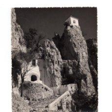 Postales: CASTILLO DE GUADALEST.(ALICANTE).- ENTRADA AL PUEBLO. Lote 147581710